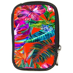 Aloha Hawaiian Flower Floral Sexy Summer Orange Compact Camera Cases by Mariart