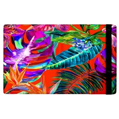 Aloha Hawaiian Flower Floral Sexy Summer Orange Apple Ipad 2 Flip Case by Mariart