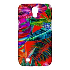 Aloha Hawaiian Flower Floral Sexy Summer Orange Samsung Galaxy Mega 6 3  I9200 Hardshell Case by Mariart