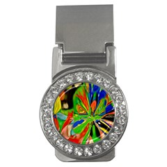 Acrobat Wormhole Transmitter Monument Socialist Reality Rainbow Money Clips (cz)  by Mariart