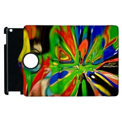 Acrobat Wormhole Transmitter Monument Socialist Reality Rainbow Apple Ipad 2 Flip 360 Case by Mariart