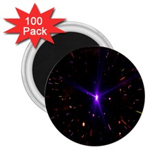 Animation Plasma Ball Going Hot Explode Bigbang Supernova Stars Shining Light Space Universe Zooming 2 25  Magnets (100 Pack)  by Mariart