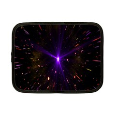 Animation Plasma Ball Going Hot Explode Bigbang Supernova Stars Shining Light Space Universe Zooming Netbook Case (small)  by Mariart