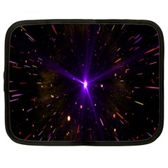 Animation Plasma Ball Going Hot Explode Bigbang Supernova Stars Shining Light Space Universe Zooming Netbook Case (xxl)  by Mariart