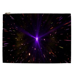 Animation Plasma Ball Going Hot Explode Bigbang Supernova Stars Shining Light Space Universe Zooming Cosmetic Bag (xxl)  by Mariart