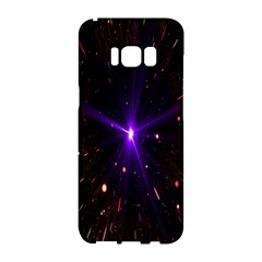 Animation Plasma Ball Going Hot Explode Bigbang Supernova Stars Shining Light Space Universe Zooming Samsung Galaxy S8 Hardshell Case  by Mariart