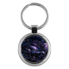 Animation Plasma Ball Going Hot Explode Bigbang Supernova Stars Shining Light Space Universe Zooming Key Chains (round)  by Mariart