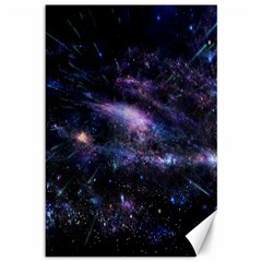 Animation Plasma Ball Going Hot Explode Bigbang Supernova Stars Shining Light Space Universe Zooming Canvas 12  X 18   by Mariart