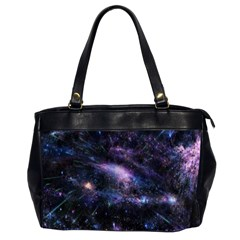 Animation Plasma Ball Going Hot Explode Bigbang Supernova Stars Shining Light Space Universe Zooming Office Handbags (2 Sides)  by Mariart