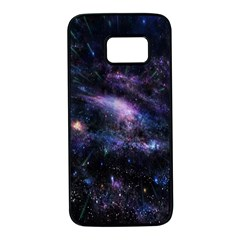 Animation Plasma Ball Going Hot Explode Bigbang Supernova Stars Shining Light Space Universe Zooming Samsung Galaxy S7 Black Seamless Case by Mariart