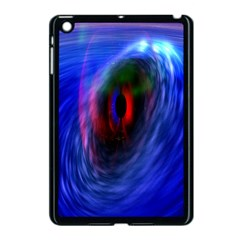 Black Hole Blue Space Galaxy Apple Ipad Mini Case (black) by Mariart