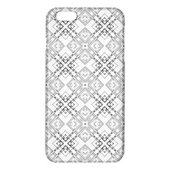 Background Pattern Diagonal Plaid Black Line Iphone 6 Plus/6s Plus Tpu Case by Mariart