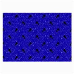 Unicorn Pattern Blue Large Glasses Cloth (2 Side)