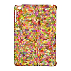 Multicolored Mixcolor Geometric Pattern Apple Ipad Mini Hardshell Case (compatible With Smart Cover) by paulaoliveiradesign