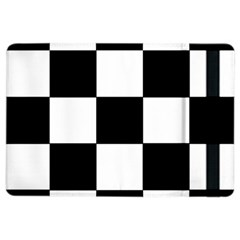 Grid Domino Bank And Black Ipad Air 2 Flip by Nexatart