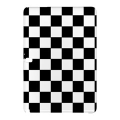 Grid Domino Bank And Black Samsung Galaxy Tab Pro 12 2 Hardshell Case by Nexatart