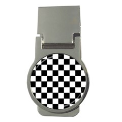 Grid Domino Bank And Black Money Clips (round)
