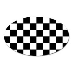 Grid Domino Bank And Black Oval Magnet
