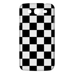 Grid Domino Bank And Black Samsung Galaxy Mega 5 8 I9152 Hardshell Case