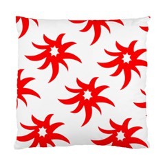 Star Figure Form Pattern Structure Standard Cushion Case (two Sides) by Nexatart