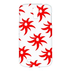 Star Figure Form Pattern Structure Samsung Galaxy S4 I9500/i9505 Hardshell Case by Nexatart