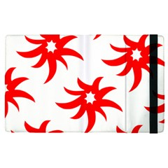 Star Figure Form Pattern Structure Apple Ipad Pro 12 9   Flip Case by Nexatart