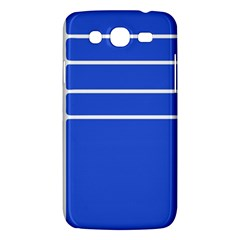 Stripes Pattern Template Texture Blue Samsung Galaxy Mega 5 8 I9152 Hardshell Case  by Nexatart