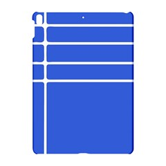 Stripes Pattern Template Texture Blue Apple Ipad Pro 10 5   Hardshell Case