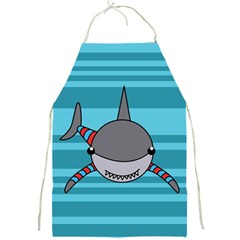 Shark Sea Fish Animal Ocean Full Print Aprons