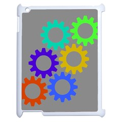 Gear Transmission Options Settings Apple Ipad 2 Case (white) by Nexatart