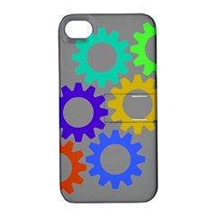 Gear Transmission Options Settings Apple Iphone 4/4s Hardshell Case With Stand by Nexatart