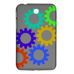 Gear Transmission Options Settings Samsung Galaxy Tab 3 (7 ) P3200 Hardshell Case  by Nexatart