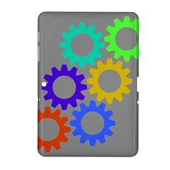 Gear Transmission Options Settings Samsung Galaxy Tab 2 (10 1 ) P5100 Hardshell Case