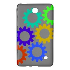 Gear Transmission Options Settings Samsung Galaxy Tab 4 (8 ) Hardshell Case  by Nexatart