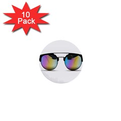 Sunglasses Shades Eyewear 1  Mini Buttons (10 Pack)