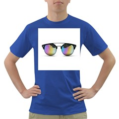 Sunglasses Shades Eyewear Dark T-shirt by Nexatart