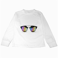Sunglasses Shades Eyewear Kids Long Sleeve T Shirts