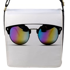 Sunglasses Shades Eyewear Flap Messenger Bag (s)