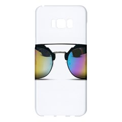 Sunglasses Shades Eyewear Samsung Galaxy S8 Plus Hardshell Case  by Nexatart