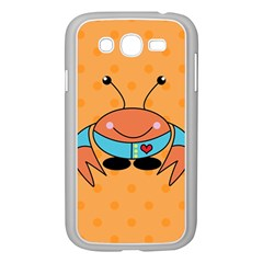 Crab Sea Ocean Animal Design Samsung Galaxy Grand Duos I9082 Case (white)