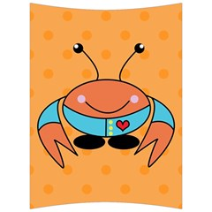 Crab Sea Ocean Animal Design Back Support Cushion by Nexatart