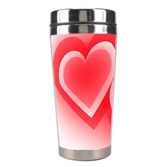 Heart Love Romantic Art Abstract Stainless Steel Travel Tumblers by Nexatart