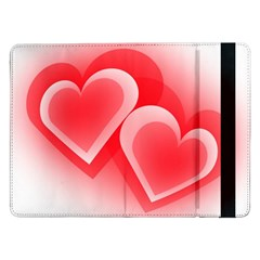 Heart Love Romantic Art Abstract Samsung Galaxy Tab Pro 12 2  Flip Case by Nexatart