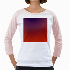 Course Colorful Pattern Abstract Girly Raglans