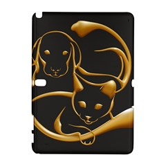 Gold Dog Cat Animal Jewel Dor¨| Galaxy Note 1 by Nexatart