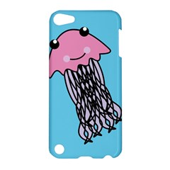 Jellyfish Cute Illustration Cartoon Apple Ipod Touch 5 Hardshell Case