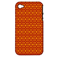 Pattern Creative Background Apple Iphone 4/4s Hardshell Case (pc+silicone)