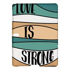 Love Sign Romantic Abstract Samsung Galaxy Tab S (10 5 ) Hardshell Case  by Nexatart