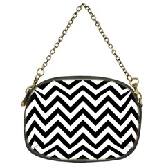 Wave Background Fashion Chain Purses (one Side)