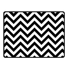 Wave Background Fashion Fleece Blanket (small)